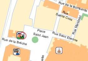 plan MJC Vieux Lyon