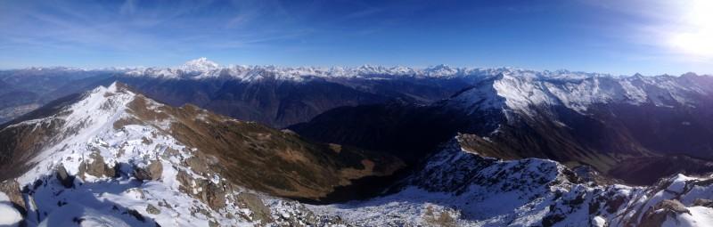 Du Mont Blanc à la Vanoise