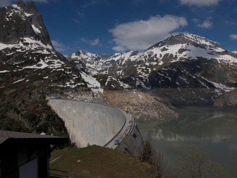 Barrage d'Emosson sur Suisse