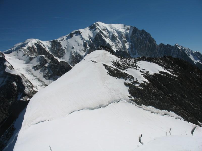 sommet est des Dômes du Miage, Montblanc