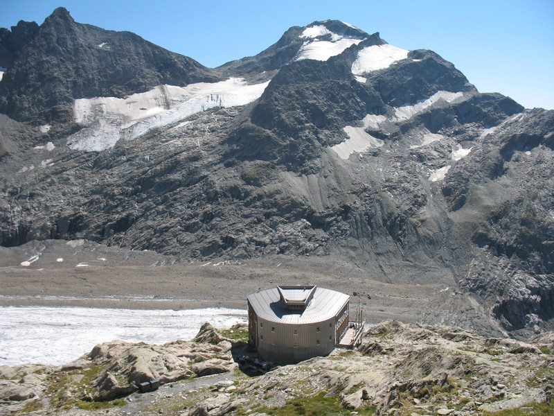 refuge des Conscrits, col et sommet du Mont Tondu,