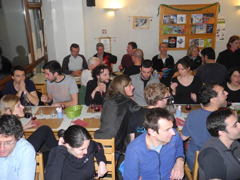 repas au gîte Le Shantoné